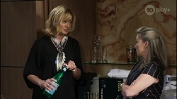 Claudia Watkins, Samantha Fitzgerald in Neighbours Episode 8352