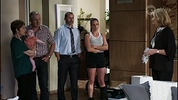 Susan Kennedy, Aster Conway, Karl Kennedy, Toadie Rebecchi, Bea Nilsson, Claudia Watkins in Neighbours Episode 8352