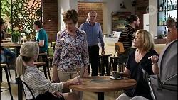 Samantha Fitzgerald, Susan Kennedy, Karl Kennedy, Claudia Watkins in Neighbours Episode 8352