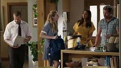 Toadie Rebecchi, Mackenzie Hargreaves, Dipi Rebecchi, Shane Rebecchi in Neighbours Episode 8353