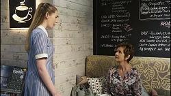 Mackenzie Hargreaves, Susan Kennedy in Neighbours Episode 8353