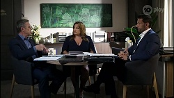 Paul Robinson, Terese Willis, Pierce Greyson in Neighbours Episode 8354