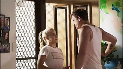 Roxy Willis, Kyle Canning in Neighbours Episode 8355