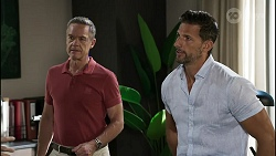 Paul Robinson, Pierce Greyson in Neighbours Episode 8355
