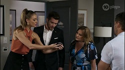 Chloe Brennan, Ned Willis, Terese Willis, Pierce Greyson in Neighbours Episode 8355