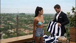 Yashvi Rebecchi, Ned Willis in Neighbours Episode 8355