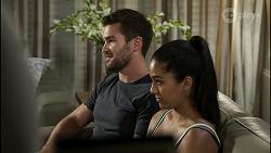 Ned Willis, Yashvi Rebecchi in Neighbours Episode 8356
