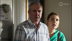 Karl Kennedy, Naomi Canning in Neighbours Episode 8359