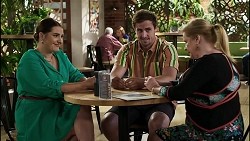 Naomi Canning, Kyle Canning, Sheila Canning in Neighbours Episode 8359