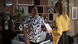 Aaron Brennan, Chloe Brennan in Neighbours Episode 8359