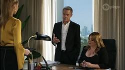 Chloe Brennan, Paul Robinson, Terese Willis in Neighbours Episode 8359