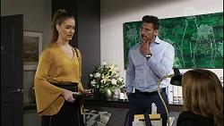Chloe Brennan, Pierce Greyson, Terese Willis in Neighbours Episode 8359