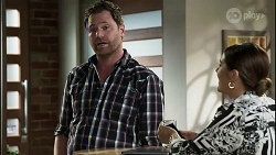 Shane Rebecchi, Naomi Canning in Neighbours Episode 8360