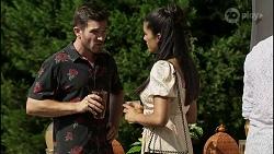 Ned Willis, Yashvi Rebecchi in Neighbours Episode 8360