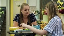 Harlow Robinson, Mackenzie Hargreaves in Neighbours Episode 8361