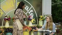 Dipi Rebecchi, Mackenzie Hargreaves in Neighbours Episode 8361