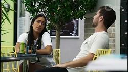 Yashvi Rebecchi, Ned Willis in Neighbours Episode 8361