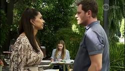 Dipi Rebecchi, Mackenzie Hargreaves, Shane Rebecchi in Neighbours Episode 8361