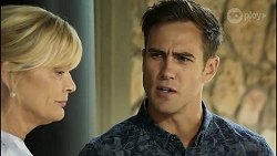 Claudia Watkins, Aaron Brennan in Neighbours Episode 8362