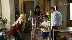 Dee Bliss, Hugo Somers, Dipi Rebecchi, Nell Rebecchi, Toadie Rebecchi in Neighbours Episode 8362