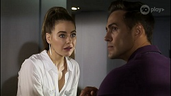 Chloe Brennan, Aaron Brennan in Neighbours Episode 8362