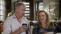 Clive Gibbons, Sheila Canning in Neighbours Episode 8362