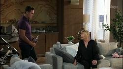 Aaron Brennan, Claudia Watkins in Neighbours Episode 8363