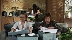 Chloe Brennan, Bea Nilsson, Susan Kennedy in Neighbours Episode 8363
