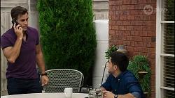 Aaron Brennan, David Tanaka in Neighbours Episode 8363