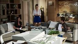Bea Nilsson, Chloe Brennan, Susan Kennedy in Neighbours Episode 8363