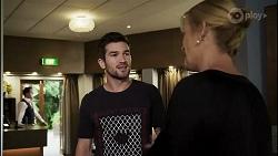 Ned Willis, Claudia Watkins in Neighbours Episode 8363