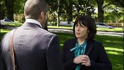 Toadie Rebecchi, Meg Lee in Neighbours Episode 8364