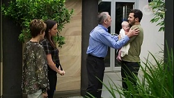 Susan Kennedy, Bea Nilsson, Karl Kennedy, Aster Conway, Shaun Watkins in Neighbours Episode 8365