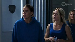 Elly Conway, Andrea Somers in Neighbours Episode 8365