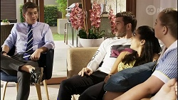 Hendrix Greyson, Ned Willis, Yashvi Rebecchi, Harlow Robinson in Neighbours Episode 8367