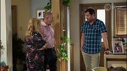 Sheila Canning, Clive Gibbons, Shane Rebecchi in Neighbours Episode 8367