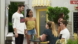 Ned Willis, Yashvi Rebecchi, Harlow Robinson, Hendrix Greyson in Neighbours Episode 8367
