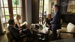 Pierce Greyson, Chloe Brennan, Terese Willis, Paul Robinson in Neighbours Episode 8367