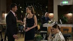 Pierce Greyson, Chloe Brennan, Paul Robinson, Naomi Canning in Neighbours Episode 8368