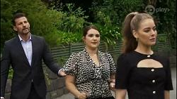 Pierce Greyson, Naomi Canning, Chloe Brennan in Neighbours Episode 8368