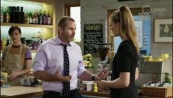 Toadie Rebecchi, Chloe Brennan in Neighbours Episode 8368