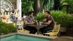 David Tanaka, Shaun Watkins in Neighbours Episode 8368