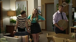Hendrix Greyson, Harlow Robinson, Toadie Rebecchi in Neighbours Episode 8369