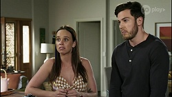 Bea Nilsson, Shaun Watkins in Neighbours Episode 8371
