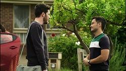 Shaun Watkins, David Tanaka in Neighbours Episode 8371