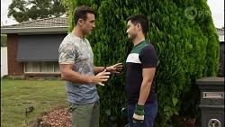 Aaron Brennan, David Tanaka in Neighbours Episode 8372