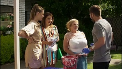 Chloe Brennan, Naomi Canning, Sheila Canning, Ned Willis in Neighbours Episode 8372