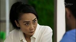 Leila Potts, David Tanaka in Neighbours Episode 8372