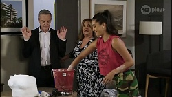Paul Robinson, Terese Willis, Yashvi Rebecchi in Neighbours Episode 8372