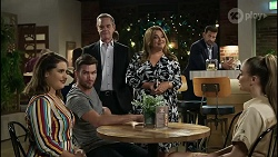 Naomi Canning, Ned Willis, Paul Robinson, Terese Willis, Pierce Greyson, Chloe Brennan in Neighbours Episode 8372